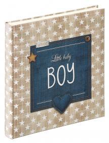 Little Baby Boy Sininen - 28x30,5 cm (50 Valkoista sivua / 25 lehteä)