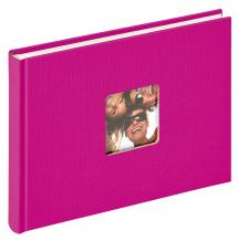 Fun Vaalenpunainen - 22x16 cm (40 Valkoista sivua / 20 lehteä)