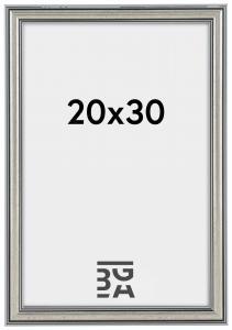 Frigg Hopeanvärinen 20x30 cm