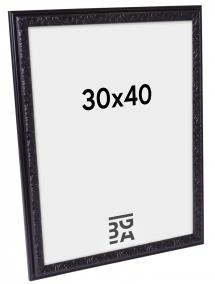 Nostalgia Musta 30x40 cm