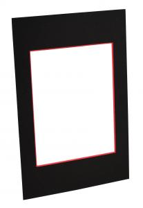 Paspatuuri Musta (Punainen keskus) - Mittatilattu