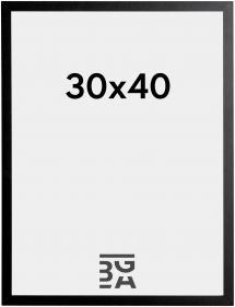 Kehys Trendy Musta 30x40 cm