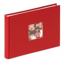 Fun Punainen- 22x16 cm (40 Valkoista sivua / 20 lehteä)