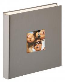 Fun Design Harmaa - 30x30 cm (100 Valkoista sivua / 50 lehteä)
