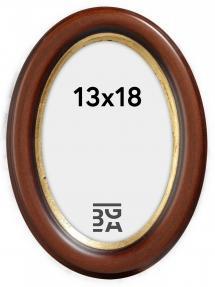 Molly Ovaali Ruskea 13x18 cm