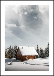 Winter Cabin Juliste