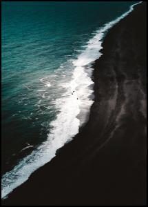 Black Beach Juliste