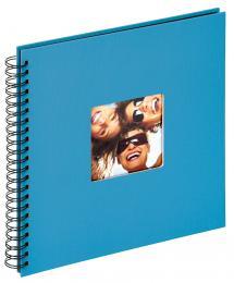 Fun Kierrealbumi Merensininen - 30x30 cm (50 Mustaa sivua / 25 lehteä)