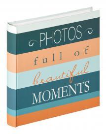 Moments Photos - 30x31 cm (100 Valkoista sivua / 50 lehteä)