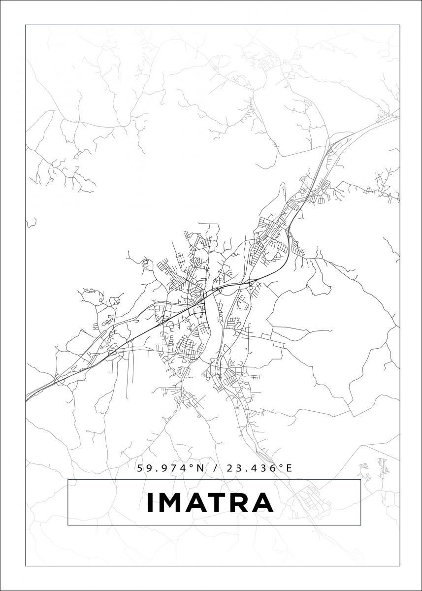 Kartta Imatra Valkoinen Bga Fi