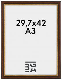 Siljan Ruskea 29,7x42 cm (A3)
