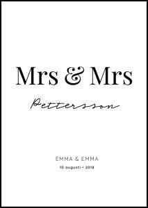 Mrs Mrs - White