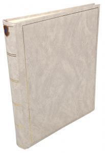 Henzo Basic Line Valkoinen - 30x36 cm (80 Valkoista sivua / 40 lehteä)