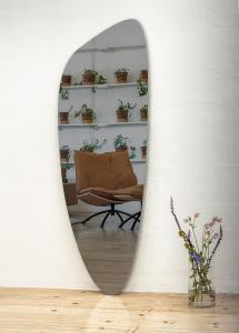 Peili Slim Warm Grey 160x57 cm