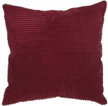 Tyynynpäällinen Isac - Viininpunainen 50x50 cm