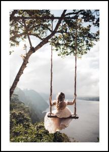 Swing with a View Juliste