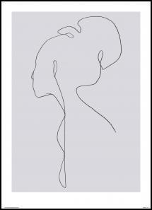Female lines III Juliste