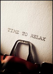 Time to Relax Juliste