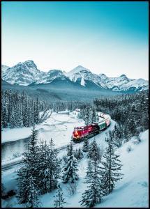 Winter Train Juliste