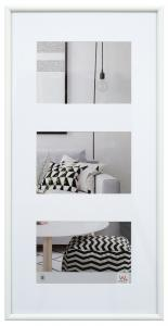 Galeria Valkoinen - 3 kuvalle (13x18 cm)