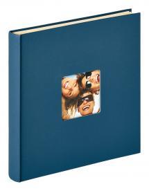Fun Itsekiinnittyvä Sininen - 33x34 cm (50 Valkoista sivua / 25 lehteä)