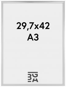 Kehys New Lifestyle Akryylilasi Hopeanvärinen 29,7x42 cm (A3)