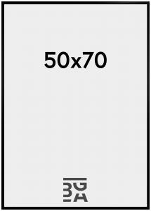 New Lifestyle Pleksilasi Musta 50x70 cm
