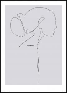 Female lines II Juliste
