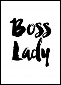 Boss Lady Juliste