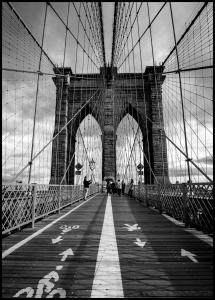 Brooklyn Bridge Juliste