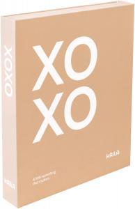 KAILA XOXO Pink - Coffee Table Photo Album (60 Mustaa sivua / 30 lehteä)