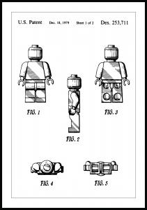 Patentti Piirustus - Lego I Juliste