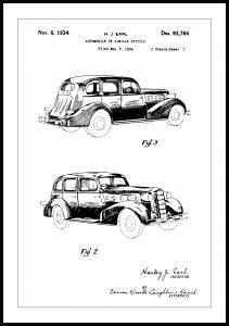 Patentti Piirustus - La Salle II Juliste