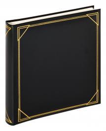 Neliö Musta - 30x30 cm (100 Valkoista sivua / 50 lehteä)