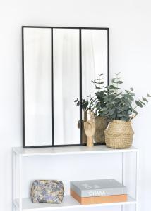 KAILA Peili Sections - Musta 60x80 cm