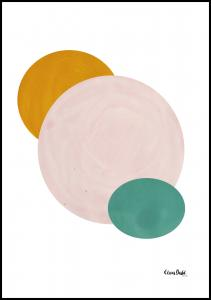 Abstract Circle Juliste