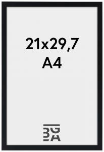 Edsbyn Musta 21x29,7 cm (A4)