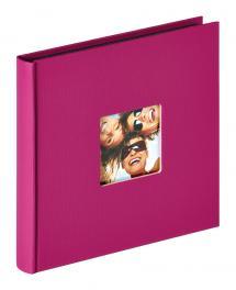 Fun Albumi Liila - 18x18 cm (30 Mustaa sivua / 15 lehteä)