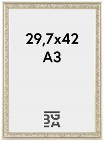 Nostalgia Hopeanvärinen 29,7x42 cm (A3)