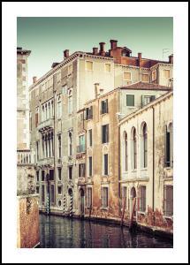 Canal in Venice Juliste