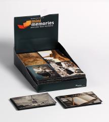 Mini Memories Travel 6 erilaista - 40 kuvalle koossa 10x15 cm - 36-pakkaus