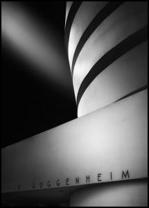 The Guggenheim Museum Juliste