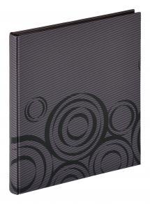 Orbit Musta - 30x33 cm (40 Mustaa sivua / 20 lehteä)