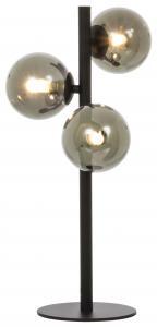 Pöytälamppu Molekyl 3 - Musta/Savu