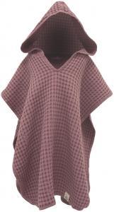 Kylpyponcho Cozy - Vaaleanpunainen 3-6 vuotta