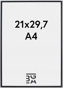 Kehys Visby Akryylilasi Musta 21x29,7 cm (A4)