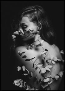 Back Of Flowers Juliste