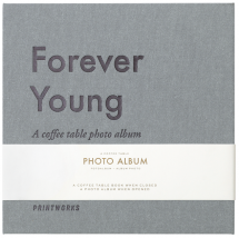 Forever Young (S) - A Coffee Table Album (60 Mustaa sivua / 30 lehteä)