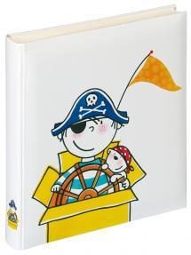 Lasten albumi Pirat Dagis - 28x30,5 cm (50 Valkoista sivua / 25 lehteä)