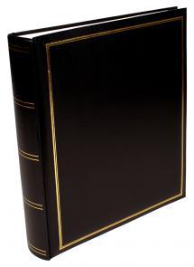 Exclusive Line Maxi Musta 30x33 cm (100 Valkoista sivua / 50 lehteä)